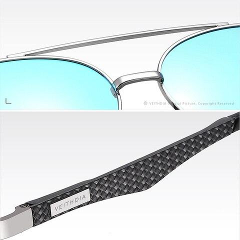 VEITHDIA Vintage Brand Aluminium Magnesium Mens Sunglasses Pilot Sun glasses Eyewear Accessories For Men VT3850 Islamabad