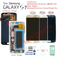 For Samsung S7 G930F G930FD Display LCD screen replacement for Samsung G930V G930T G930W8 lcd display screen Burn in Shadow