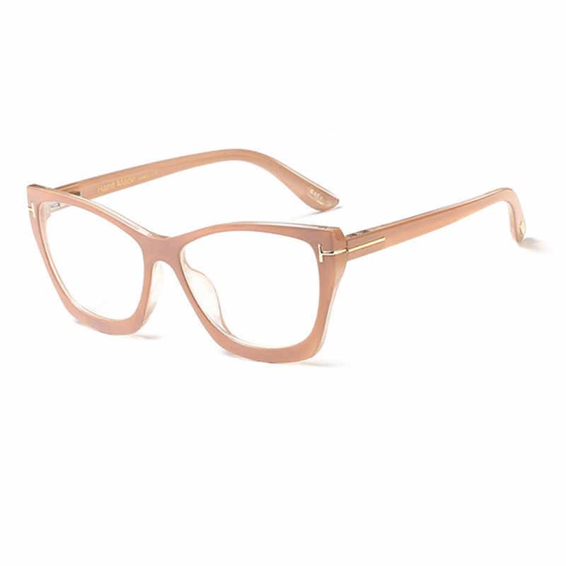 Оптические очки рамки для женщин и мужчин рецепт синий свет блокирующие очки для работы за компьютером близорукость игровой прозрачный очки Lunette Vue