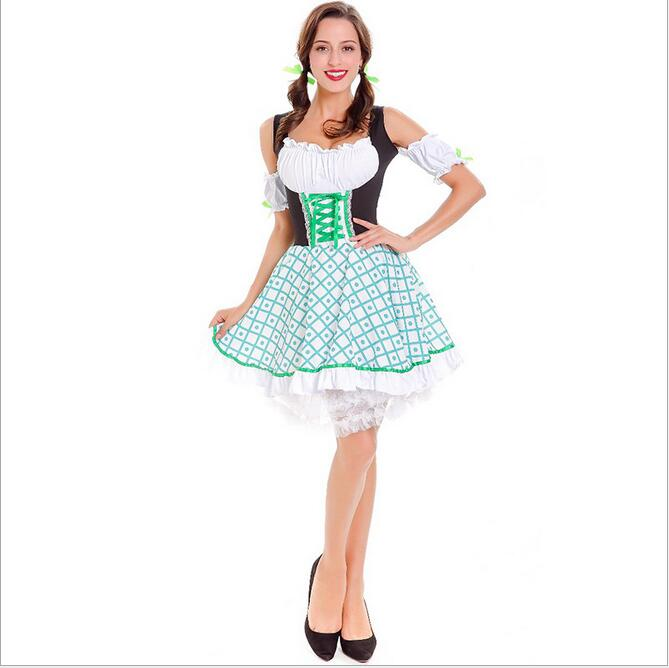 Adult Greaser Babe Costumeinstyles.cn  sc 1 st  Google Sites & ?2017 New Womenu0027s Traditional Dirndl Serving Wench Bavarian Beer ...