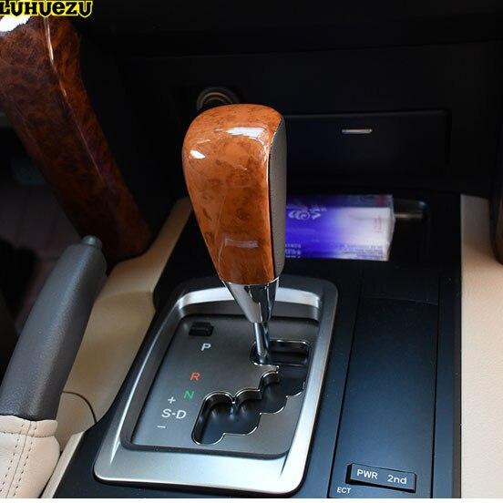 Masywnie Luhuezu drewniane kolor automatyczna skrzynia biegów gałka zmiany CA58