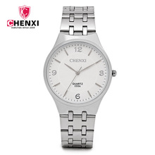Chenxi 055a Brand Men Woman Quartz Lovers Watch Stainless St