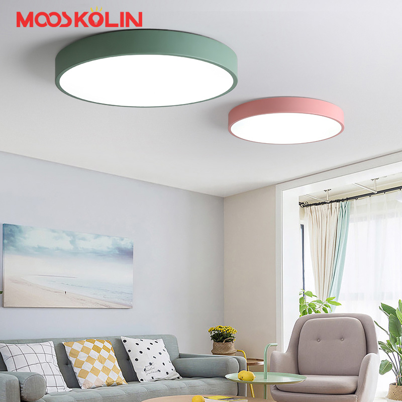 Light Filled Contemporary Living Rooms: Aliexpress.com : Buy Nordic Modern Round LED Ceiling