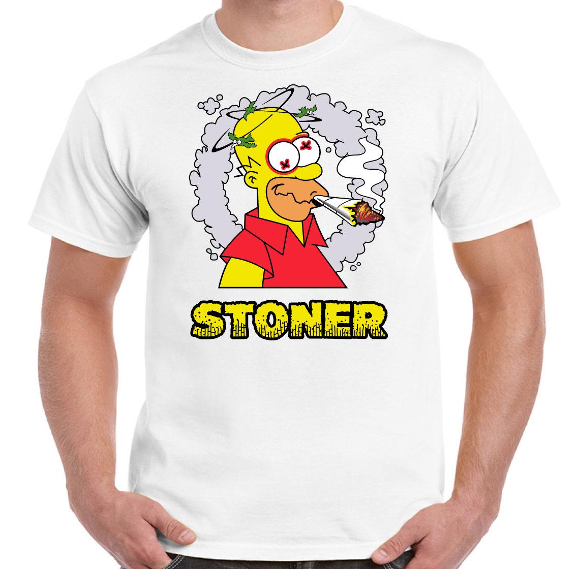 Stoner Mens Funny T-Shirt Weed Spliff