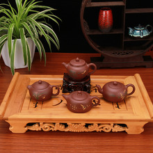 Chinese Tea Set Beauties pot teapot Full handmade Yixing clay 4 Style Choose