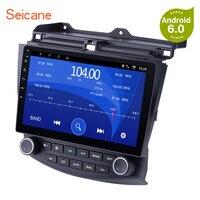 Seicane 2DIN Android 6,0/7,1/10,1 8,1 gps автомобиля радио Wi Fi мультимедийный плеер головное устройство для Honda Accord 7 2003 2004 2006 2005 2007