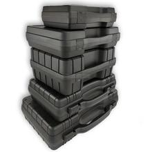 Портативный ящик для инструментов, защитное оборудование, ящик для инструментов, коробка для хранения, ударопрочный, для улицы, безопасное оборудование, коробка с предварительно вырезанной губкой
