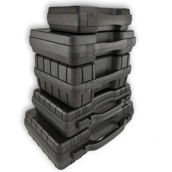 Przenośne narzędzie box wyposażenie ochronne obudowa na urządzenie schowek odporność na uderzenia zewnętrzne wyposażenie ochronne pudełko z wstępnie wyciętą gąbką tanie i dobre opinie Przypadku toohr Z tworzywa sztucznego tool box