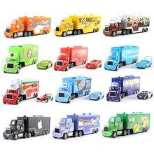 Disney Pixar машина 2 3 игрушка Молния Маккуин мак грузовик король 1:55 литье под давлением сплав модель автомобиля игрушка ребенок день рождения/Рождество подарок
