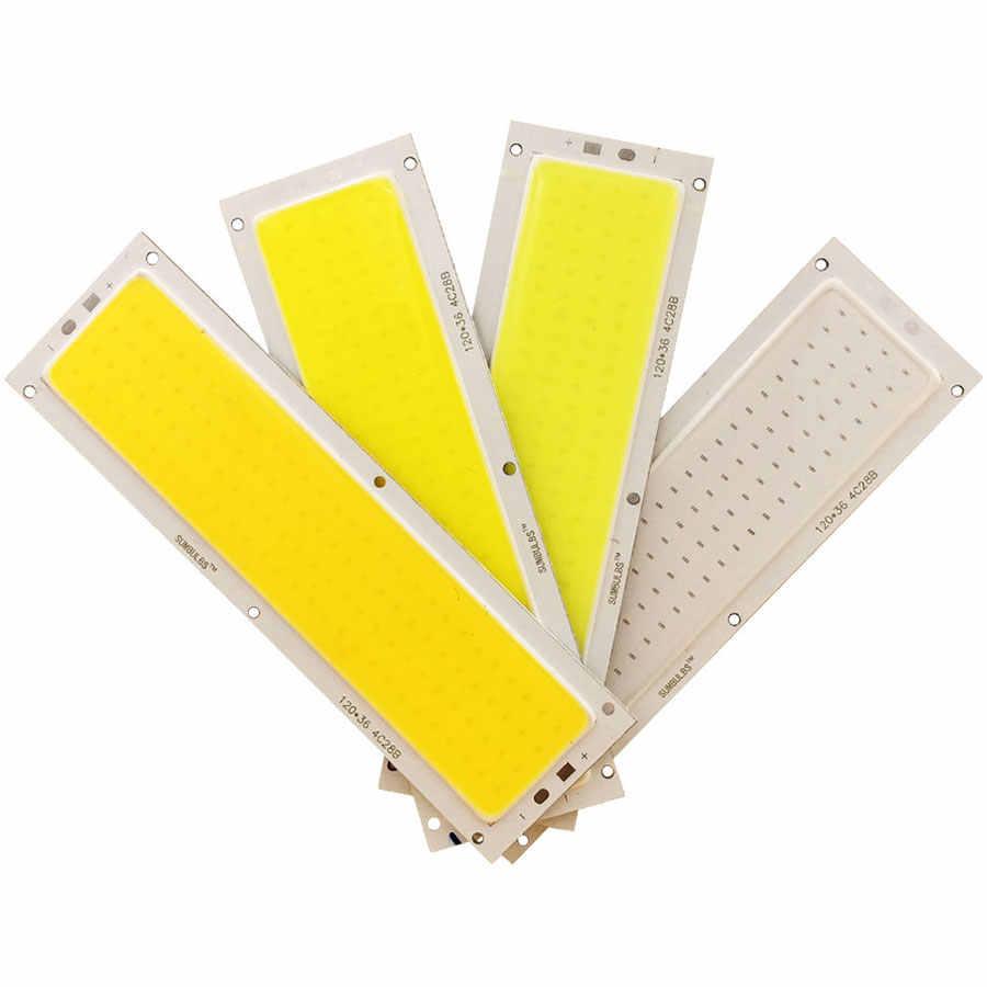 [Sumbulbs] ミックス dc 12 v 2 ワット-200 ワット led cob ランプ発光ダイオードリニアラウンドカラフルな cob 電球 cob led バーストリップチップ