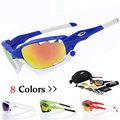2017 New Cycling Sun Glasses Outdoor Sports MTB Bicycle Sunglasses Goggles 5 Lenses Gafas de Ciclismo Mountain Bike Eyewear