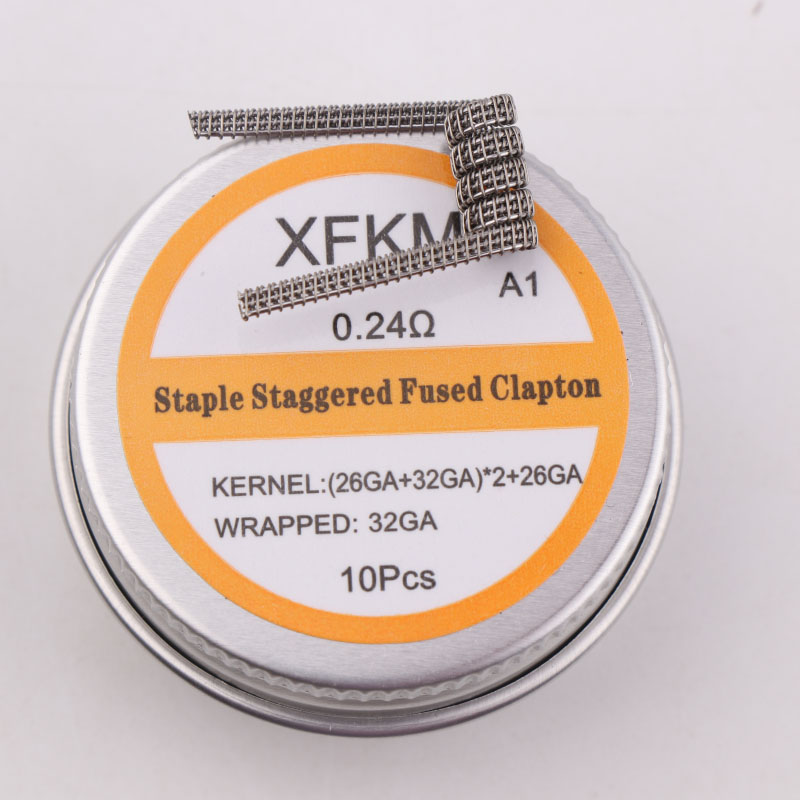 staple staggered fused