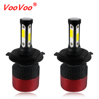 2PCS LED H7 LED H4 H11 Car Headlights 8000Lm 9005 9006 9012 Led Car Light 12V