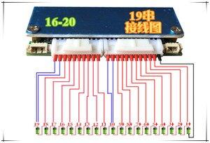 Image 5 - 80A 100A 320A 300A 400A 7S 16S 8S 20 Lithium Li ion LiFePO4 Pin PCB BMS Ban Bảo Vệ Bluetooth 10S 12S 13S 14S 18S 19S