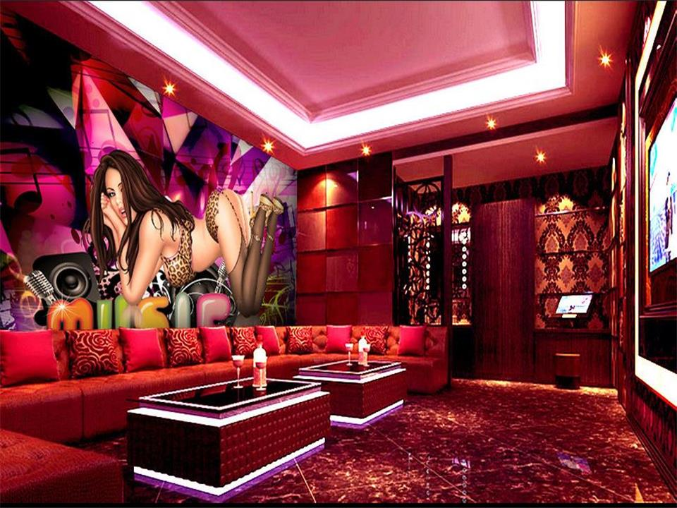 sexy living rooms cheap room sets under 300 3d wallpaper custom photo mural leopard beauty painting bar ktv sofa background non woven for wall
