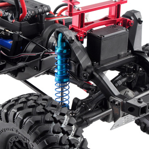 Image 5 - Oil Adjustable 80mm 90mm 100mm 110mm 120mm Metal Shock Absorber Damper for 1/10 RC Car Parts Truck Crawler Axial SCX10 TRX4 D90