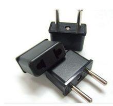 2 PCS US to EU AC Power Plug Travel Converter Adapter