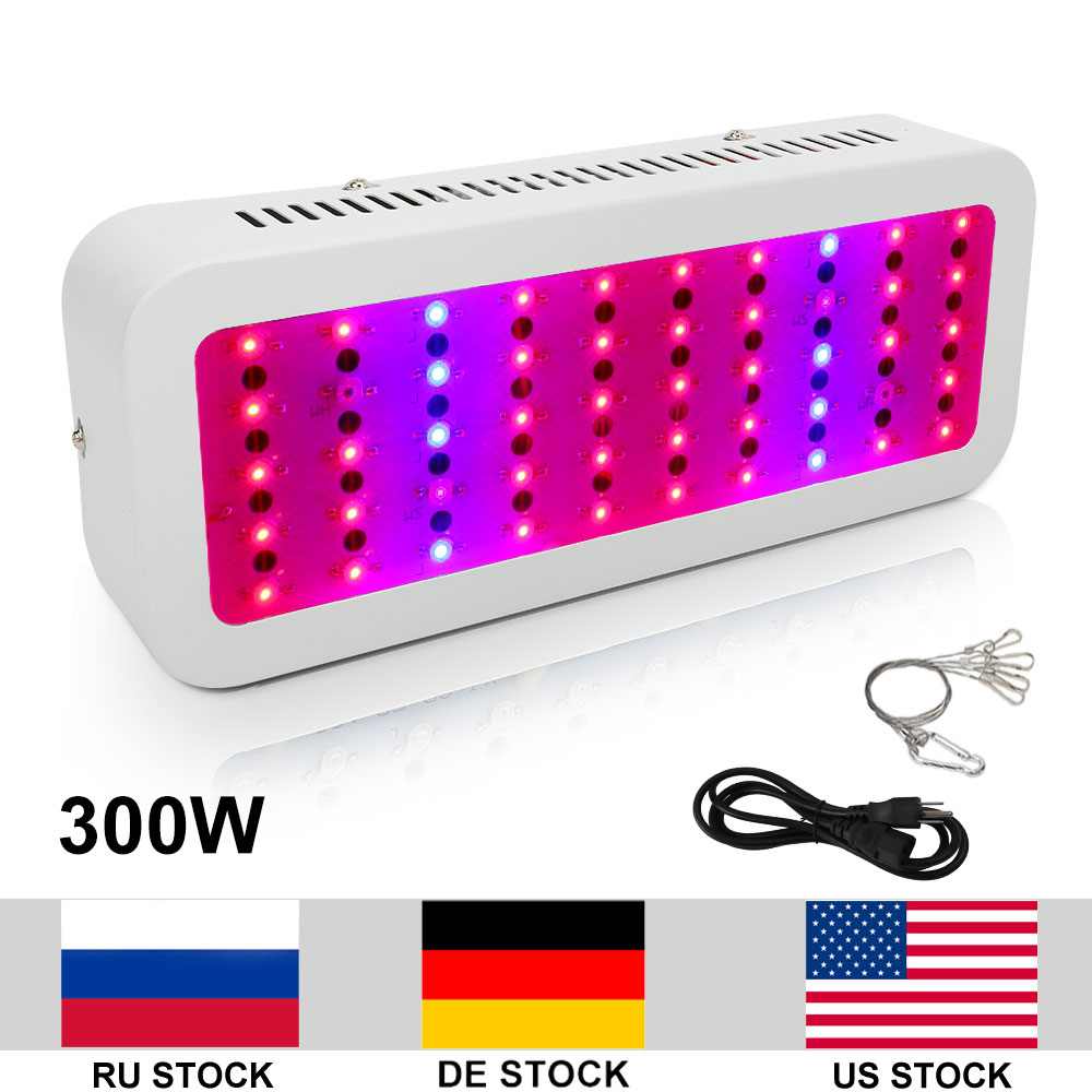 300W Growing Lamp AC85 265V LED Grow Light Full Spectrum For Indoor Plants Growing Flowering Whole Period