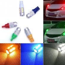 Ультра яркий T10-10(5630) Автомобильный светодиодный светильник, DC 12 В, габаритные огни, парковочная внутренняя лицензия, лампа DRL