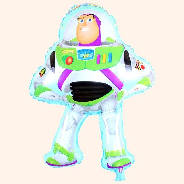1 PC 50*75 cm Buzz Lightyear forme ballon pour toy story partie ...