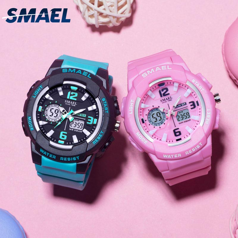Children Watches For Boys Girl SMAEL Kid Watch Waterproof Sport Alarm Clock 1643 Christmas Presents Watch For Kids Digital Watch