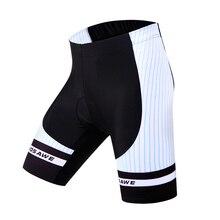 WOSAWE Men Cycling Shorts Cycle Wear Sportswear MTB DH Bicycle Bike Team Sports Padded Short Tights
