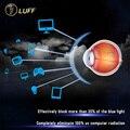 Тонкий 1.61 Анти-синие линзы Профессиональный уход за глазами Близоруким объектив Aspherica Объектив Goggle Излучения Зеленый фильм анти-усталость
