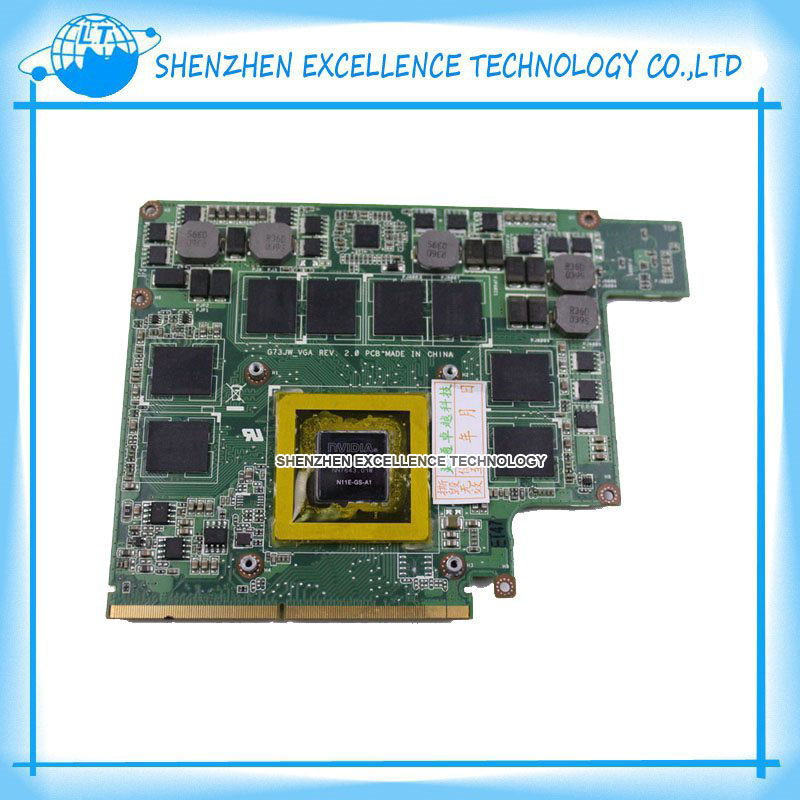 G73JW G53JW G73SW G53SW G53SX VX7 VX7S GTX460M GTX 460 N11E-GS-A1 1.5GB DDR5 Video Card Graphic card for ASUS