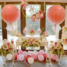 10pcs/lot 36inch Balloons Standard round Latex Balloon  Wedding Birthday Party Decoration Helium Inflable Blow Up Giant