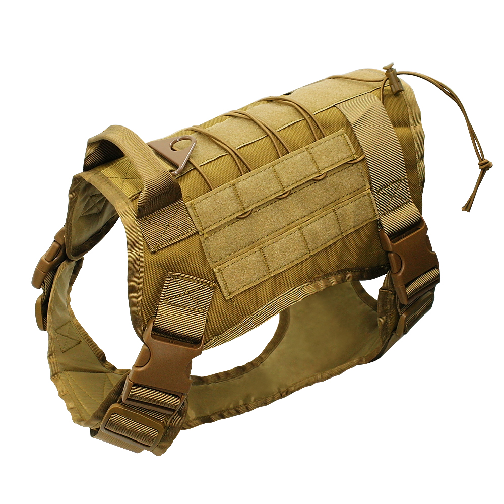 Image 3 - Tactical Dog Harness Military Service Dog Vest with Handle for  Training Adjustable Working K9 Dog Harness For Large Medium  DogsHarnesses