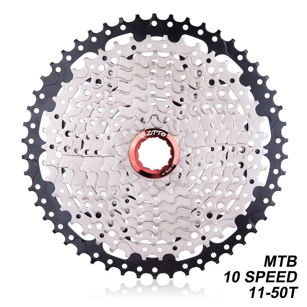 ZTTO 10 Speed 11-50T MTB Mountain Bike 10s 20s 30s Cassette Freewheel For K7/Parts XT SLX XO X0 X9 X7 Bicycle PartsZTTO 10 Speed 11-50T MTB Mountain Bike 10s 20s 30s Cassette Freewheel For K7/Parts XT SLX XO X0 X9 X7 Bicycle Parts