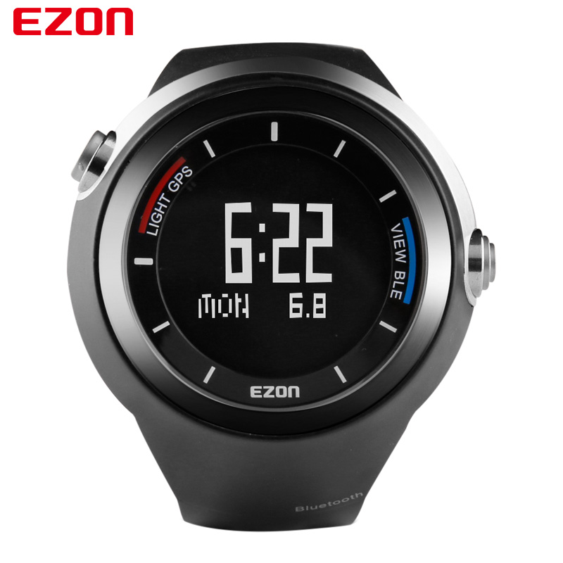 EZON G2 Smart Sports  Bluetooth GPS electronic Watch GYM Running Jogging Fitness Calories Counter Digital Watch for IOS Android ezon 2016 lovers sports outdoor waterproof gym running jogging fitness pedometer calories counter digital watch ezon t029