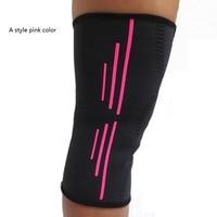 Baloncesto Protecciones de deporte rodillera fútbol Baloncesto rodilleras deporte accesorio elástico protector de rodilla protección ayuda de la rodilla