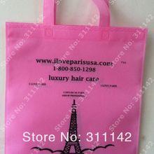 Нетканые сумки, нетканые сумки, сумки для покупок, индивидуальный логотип, по FedEx, 500 шт./лот