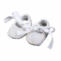 All Covered Rhinestones Bling Ballerina Sparkle Baby Cirb Shoes Christening Stunning Pram Shoes Keepsake Gift Infant