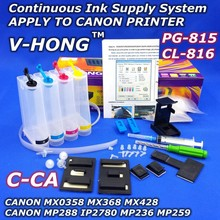 CISS for canon MP259 MP258 IP2810 2820 2840 2850 2860 Continuous Ink Supply System Universal 4