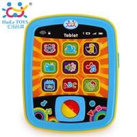 아기 컴퓨터 태블릿 패드 장난감 영어 학습 알파벳 언어 전자 음악 노래 기계 어린이 교육 아이 노트