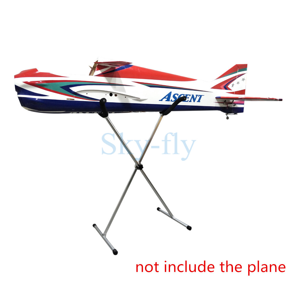 Sky Fly Fixed Wing RC Airplane RC Jets Model Foldable Metal stand Showing Stand bracket