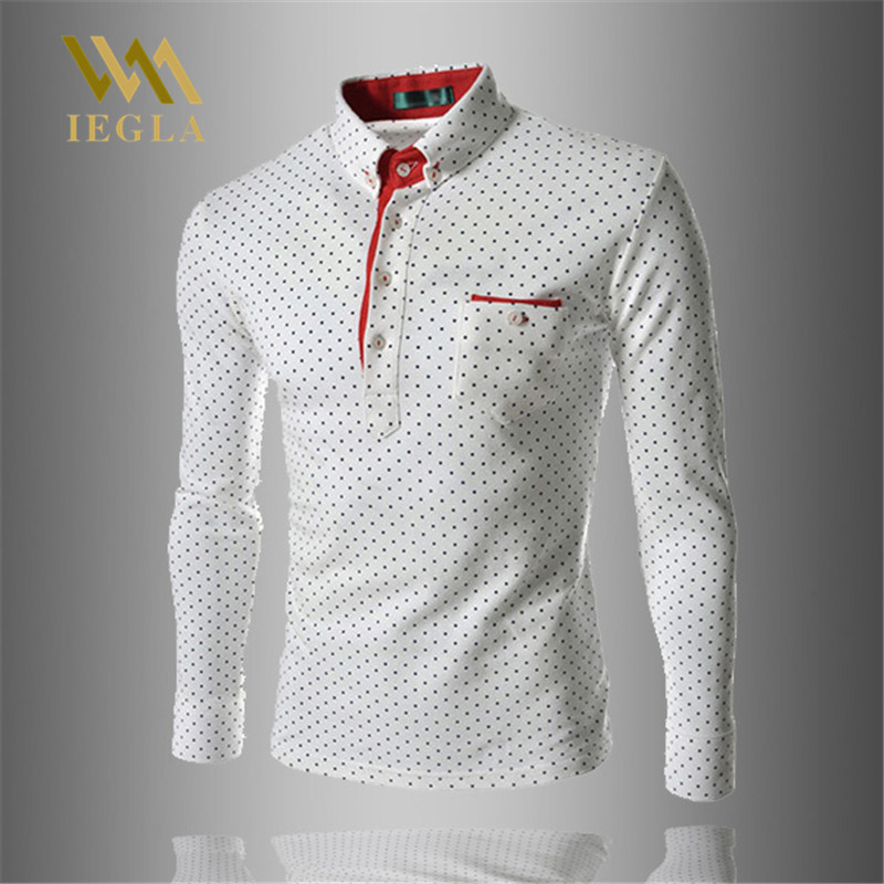 Polo   Shirt Men Brand Designer Camisa   Polo   Summer Slim Fit Dots Print Para Hombre Camiseta Masculina Male Tops