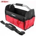 Hi-Spec 16 дюймов водонепроницаемая сумка для инструментов 600D сумка из полиэстера открытый Топ мужские дорожные сумки большой емкости Crossboy сум...
