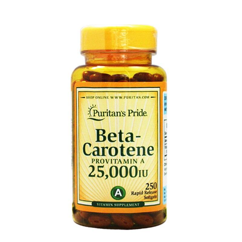 Beta-Carotene 25,000 IU 250 pcs beta 58a