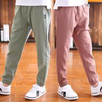 Boy Pant 2019 Teenager Summer Boys Trousers Toddler Pants Kids Teens Clothes Children Casual Long Pant 8 9 10 12 13 14 15 Years