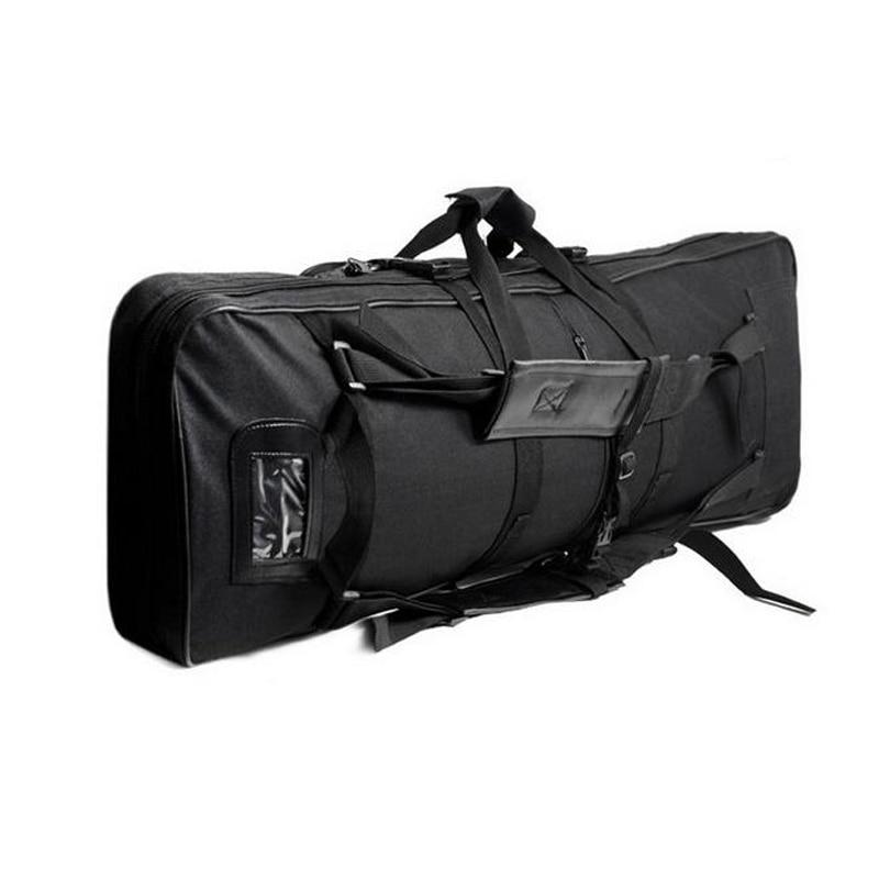 Airsoft 85 100 120cm Gun Bag Padded Tactical Rifle Gun Case Shooting Hunting Barrel Scabbard Bag Shoulder Strap Gun Accessories