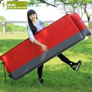 2 шт/1 лот! Flytop Горячая продажа (170 + 25) * 65*5 см одиночный надувной матрас для отдыха на открытом воздухе Кемпинг Рыбалка пляжный коврик