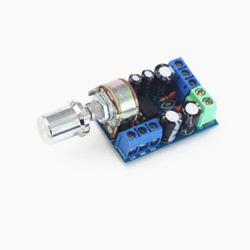 TDA2822M Amplifier Board DC 1.8-12V 2.0 Channel Stereo Mini AUX Audio Amplifier Board Amplifier Module AMP