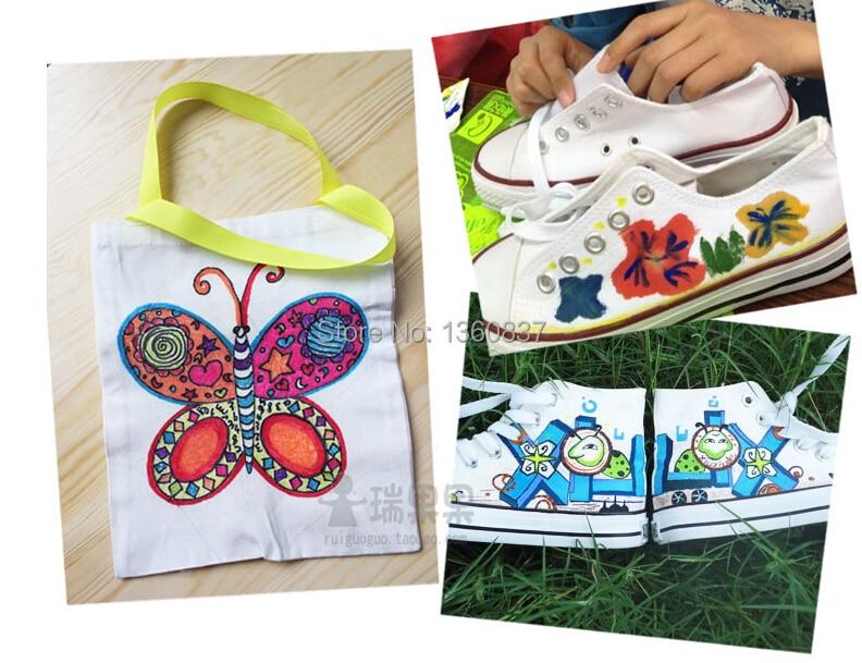 Tecido e T-shirt Forro Têxtil DIY caneta