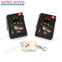 AM01R-2 remote control double channel 2 cue receivers stage effects wedding light machine