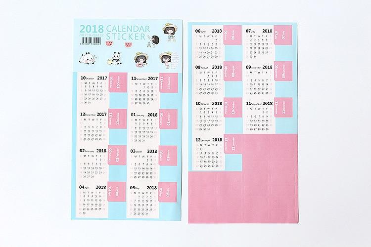 Html Calendar Planner Code : Diy planner calendar stickers index diary