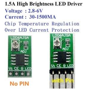 Image 5 - Conversor de corrente constante ajustável do controlador DC DC do motorista pwm do diodo emissor de luz de 10 pces dc 3 v 6 v 30 1500ma