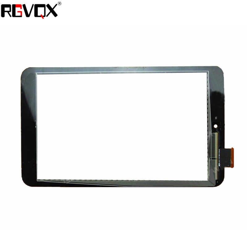 """جديد لشركة آسوس مذكرة الوسادة hd 8 ME180 أسود/أبيض 8 """"لمس الشاشة التحويل الرقمي الاستشعار زجاج لوحة اللوحي استبدال أجزاء"""